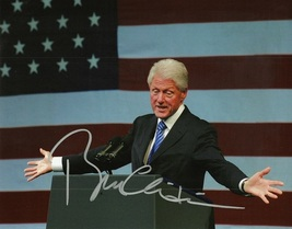 PRESIDENT BILL CLINTON SIGNED 8x10 PHOTO WITH COA - $595.00