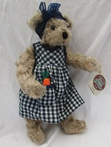 Cottage Collectible's Teddy Bear Candice From 1997 By Mary Holstad - $27.46