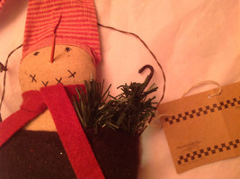 Snowman in a Black Bag Christmas Ornament Let It Snow image 5
