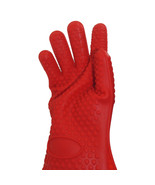 Silicone Barbecue Kitchen Oven Gloves Heat Resistant Cooking BBQ Mitts P... - $8.99