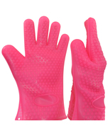 2-Pack Silicone Barbecue Kitchen Oven Gloves Cooking BBQ Mitts Heat Resi... - $12.99