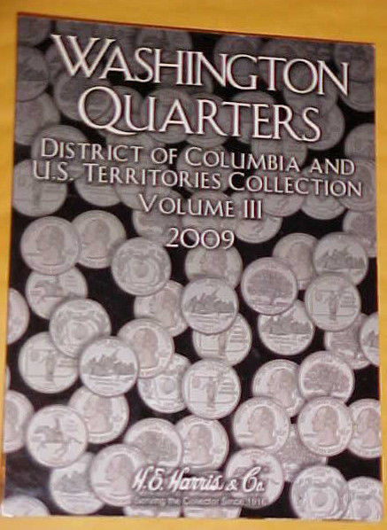 Used, Washington Quarter District of Columbia & U S Territories Folder<H E Harris&g for sale  USA