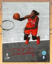 DeMarre Carroll Toronto Raptors Signed Basketball Spotlight 8x10 Photo - £36.67 GBP