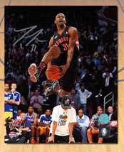 Terrence Ross Toronto Raptors Signed Dunk Contest Human Leap 8x10 Photo - $48.00