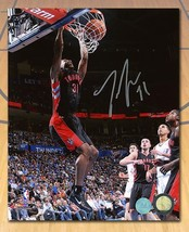 Terrence Ross Toronto Raptors Signed in Silver Rookie Slam Dunk 8x10 Photo - $48.00