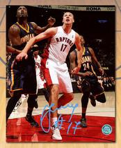 Jonas Valanciunas Toronto Raptors Signed First NBA Game 8x10 Photo - £42.02 GBP