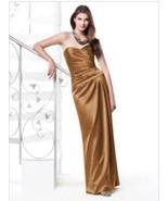 Dessy Style 2820.....Bridesmaid / Formal Dress....Butterscotch....Sz 8 - $49.49