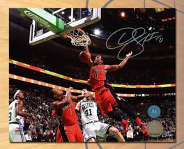 DeMar DeRozan Toronto Raptors Signed Slam Dunk 8x10 Photo - £82.13 GBP