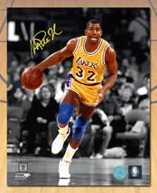 Magic Johnson Los Angeles Lakers Signed Spotlight 8x10 Photo - £82.13 GBP