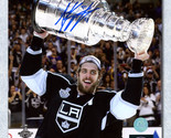 Anze Kopitar Los Angeles Kings Signed 2014 Stanley Cup 8x10 Photo