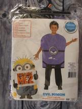 Despicable Me 2 Evil Minion Child Costume Small 4-6 Purple Foam Halloween Rubies - $9.89