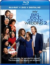 My Big Fat Greek Wedding 2 (Blu-ray + DVD + Digital HD) New