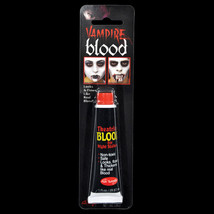 Horror Realistic Fake-ZOMBIE VAMPIRE BLOOD TUBE-Cosplay Costume Makeup A... - $3.93