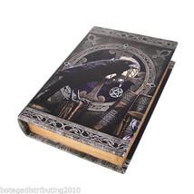 Anne Stokes Talisman Book Box Caja Para Cartas Tarot Raven Wican Night T... - $23.75