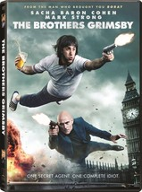 The Brothers Grimsby (DVD, 2016) New