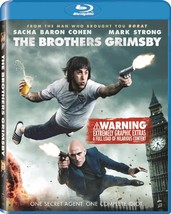 The Brothers Grimsby (Blu-ray, 2016) New