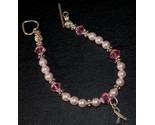 Pink crystal pink pearl bc charm bracelet2 thumb155 crop