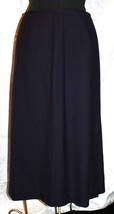 Talbots Sz 6 Purple Eggplant Straight Pencil Skirt Wool Lined - $27.71