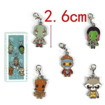 Guardians Of The Galaxy Characters 5 PCS Pendan... - $6.79