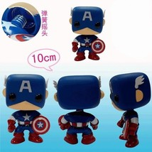 Captain America 3.9 Inches Q Edition PVC Figure #38286 - $11.29