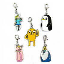 Adventure Time Anime Characters 5 PCS Pendants Set #32125 - $6.79