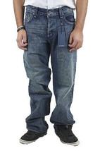 38 NWT Rock & Republic Mens Taylor Bootcut Rigid Flap Pocket Jeans Cyani... - $169.88