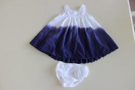 Camilla Girl's White Purple Ombre Tie dye  Sleeveless Dress 24 Months Bl... - $14.47