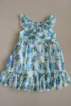 Koala Kids Girls 3T Sleeveless Ruffle Chiffon Sheer Overlay Floral Dress  - $9.72