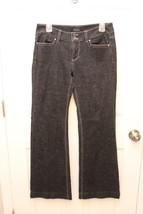 Womens White House Black Market Black Blanc Trouser Leg Denim J EAN S Size 6 S - $22.12