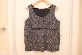 Tommy Hilfiger Women Tiered Sleeveless Top Sz X... - $19.77