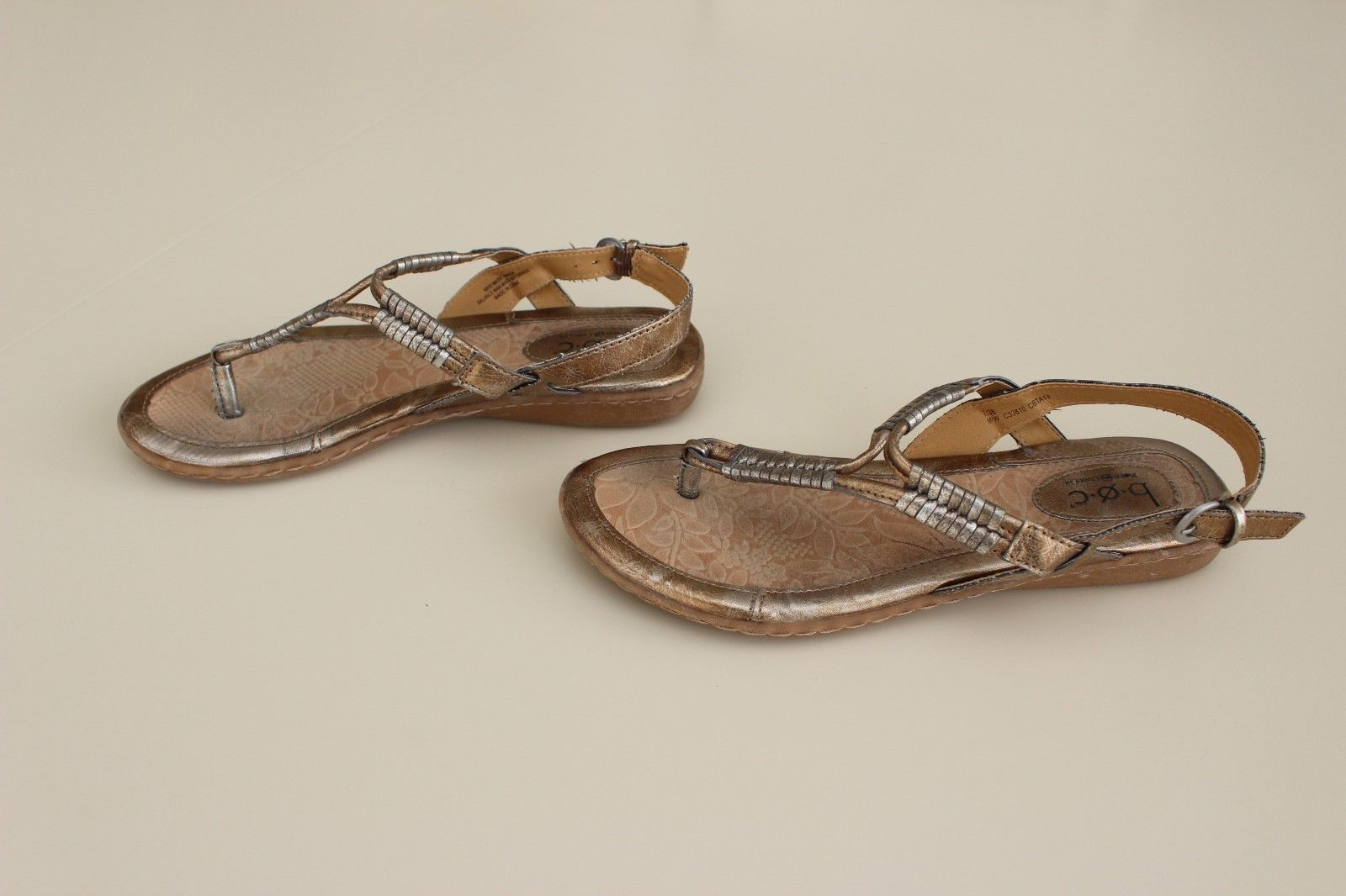 7936a2df1 b.o.c. by Born Metallic Gold Sandals Size 7 and 50 similar items. S l1600
