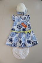 NWT Gymboree Dandelion Chambray Dress Size 18-24 M Pocketful of Sunshine... - $30.79