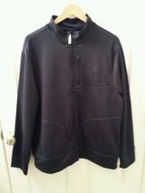 Men's FILA Sport Size Large Navy Blue Soft Shell Track Athletic Jacket F... - $26.96