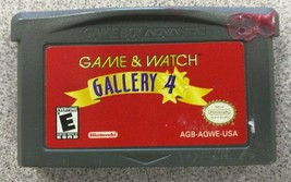 Game & Watch Gallery 4 (Nintendo Game Boy Advance, 2002) GBA - Game Only - $8.41