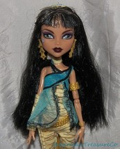 Rare 2010 MONSTER HIGH First Wave CLEO DE NILE Deboxed Doll w/Pet Snake ... - $67.71