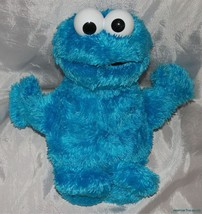 "2010 HASBRO Plush SESAME STREET 10"" Shaggy SQUEEZE A SONG COOKIE MONSTER... - $24.18"