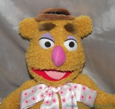 "DISNEY STORE MUPPETS Plush Stuffed 17"" Shaggy CLASSIC FOZZIE BEAR w/Hat ... - $38.61"