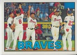 Atlanta Braves 2016 Topps Heritage Checklist Card #356 - $0.99
