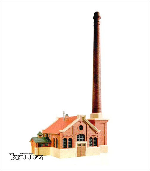 KIBRI N 7320 7322 - 1870s Factory and Boiler House - 2 KITS