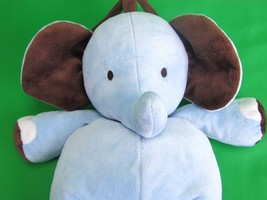 Carters Just One Year Baby Blue Elephant Musica... - $21.24