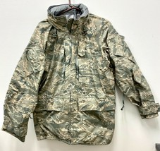 GENUINE USAF APECS ABU GORE TEX TIGER STRIPE ALL PURPOSE PARKA - LARGE R... - $84.15