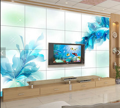 3D Sapphire Traumblumen 367 Fototapeten Wandbild Fototapete BildTapete Familie - $52.21+