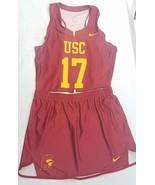 Nike USC Womens Lacrosse Team Uniform Skirt Jersey M Medium 2018 - $49.49