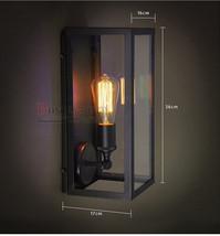 Retro Outdoor NEW Union Filament Acrylic Narrow Sconce - RH Wall Lamp E27 Light - $76.24