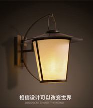 Antique Brown American Country Sconce E27 Light Wall Lamp Loft Lighting Fixture - $143.02