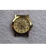 Vintage Soviet USSR Luch Man Mechanical Wrist Watch Gold Color NOS - $46.34