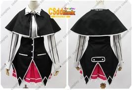 High School DxD long sleeved black school Uniform Cosplay Costume - $86.99