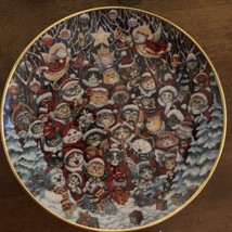 """Franklin Mint SANTA CLAWS By Bill Bell Limited Edition Fine Porcelain 8""""... - $14.84"""