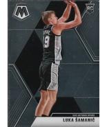 Luka Samanic Mosaic 19-20 #235 Rookie Card San Antonio Spurs - $0.75