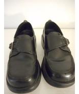 Dansko Women's Black Sz 36 Shoe Leather Upper Buckle style some wear on ... - $44.54